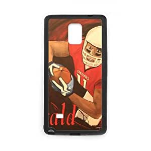 Samsung Galaxy Note 4 Black Cell Phone Case Arizona Cardinals NFL Personalized Customized Phone Case Cover NLYSJHA0822