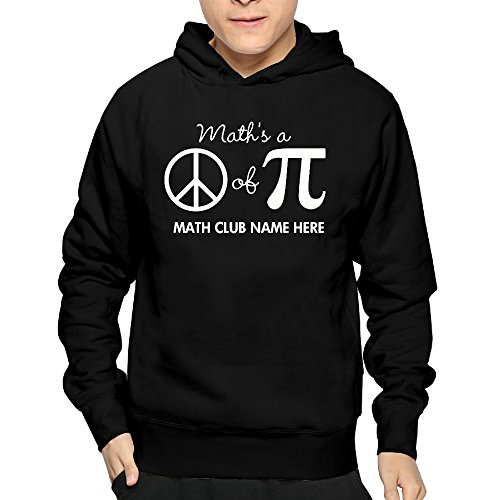 Mens Math's A Math Club Name Here Cool Sweatshirts 100% Cotton