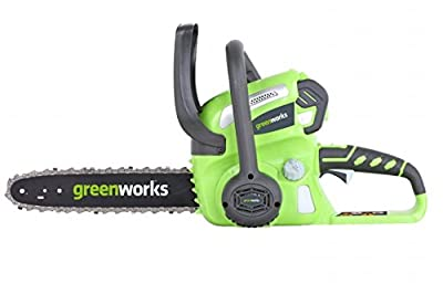 GreenWorks G-MAX Cordless Chain Saw with Battery and Charger