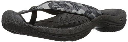 - KEEN Men's Waimea H2 Sandal, Black/Neutral Gray, 13 M US