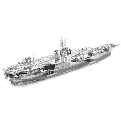 - Fascinations Metal Earth ICONX USS Theodore Roosevelt CVN-71 3D Metal Model Kit