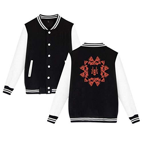 KissKid Fairy Tail (3) Adults Baseball Uniform Jacket Sport Coat 4XL ()