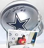 Devin Street Dallas Cowboys Autographed Signed Riddell Mini Helmet