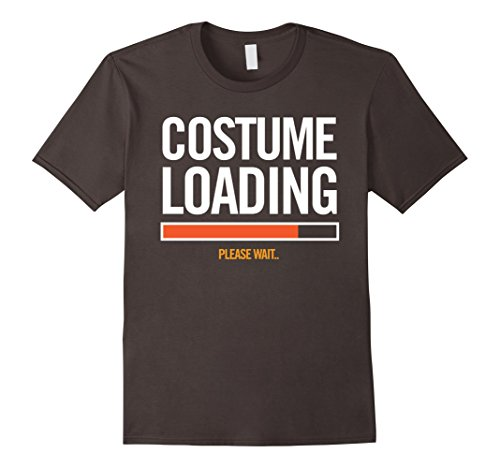 Sports Fanatic Halloween Costume (Mens Costume Loading.. Lazy Halloween Costume Digital T-Shirt Medium Asphalt)