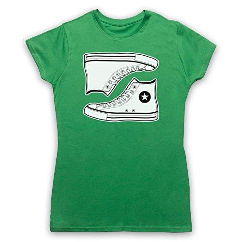 Allstars Basketball Shoes Camiseta para Mujer Verde