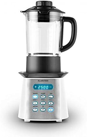 Klarstein 10028105 Batidora de vaso 1.75L 450W Negro, Color blanco ...