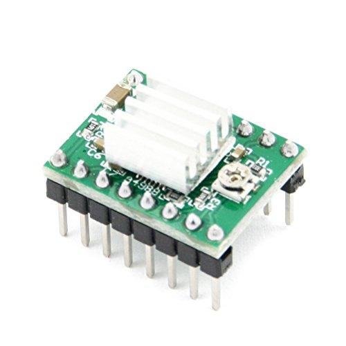 UKCOCO 5pcs A4988 StepStick Stepper Motor Driver for 3D Printer Electronics/CNC Machine/Robotics by UKCOCO