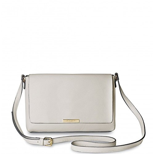 Katie Loxton–Classic bolsa de hombro, color crema