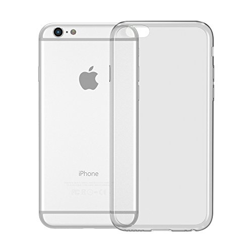 Ultra Slim Cover für Apple iPhone 6 / 6S Schutz Hülle TPU Case Schutzhülle Silikon Tasche Dünn Transparent