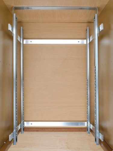 Rev-a-Shelf 5WB2-1822-CR 17.75'' x 22'' Double Pullout Wire Basket by Rev-A-Shelf (Image #1)