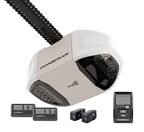 Chamberlain PD762EV Garage Door Opener, ¾ HP, Durable Cha...