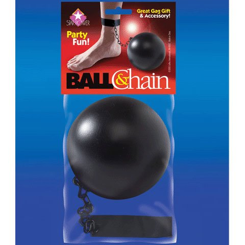 Ball And Chain Prop (Loftus International Star Power Pirate Prisoner Ball and Chain Costume Accessory, Black, 10