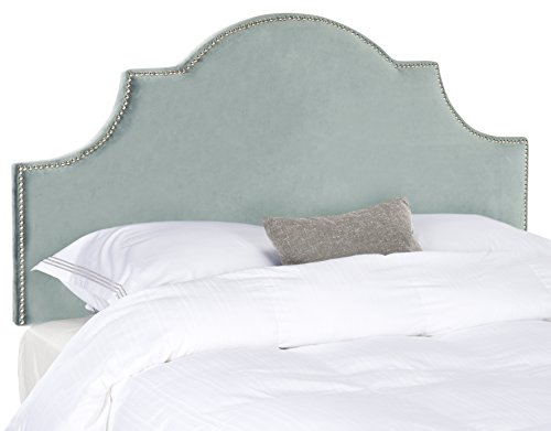 Safavieh Mercer Collection Hallmar Arched King Sized Headboard, Wedgewood Blue by Safavieh