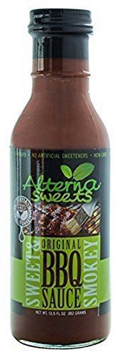 AlternaSweets Stevia Sweetened BBQ Sauce (Low Carb Bbq)