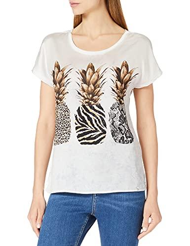 KEY LARGO PINEAPPLE round Dames T-Shirt