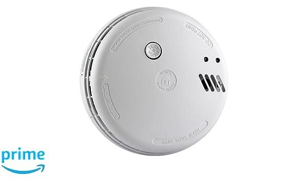 Aico Ei146RC Series, Alarma de humo óptica con pila alcalina: Amazon.es: Bricolaje y herramientas