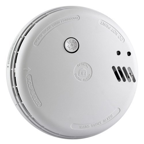Aico EI141RC Mains Ionisation Smoke Alarm with 9V Battery