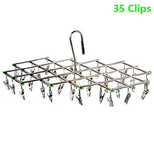 Drying Racks Hanger for Laundry Clothes Foldable Stainless S