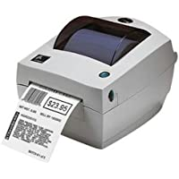 Zebra LP 2844-Z Thermal Label Printer - Monochrome - Direct Thermal - 203 x 203 dpi - USB, Serial, Parallel