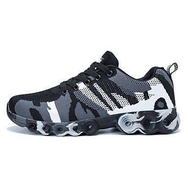 Un aemember060 黑灰 Mountain Bike Caza Zapatos Zapatos Zapatos para la corsa sobre Skate zapatos