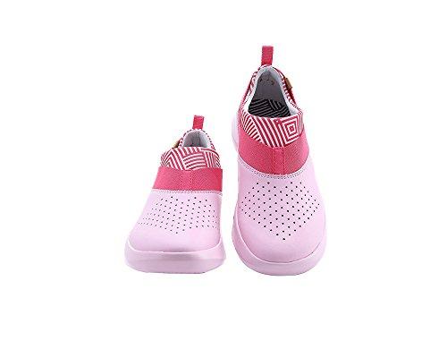 shoes On Naxos Microfiber Comfort UIN Women's Slip Pink qAawqY7