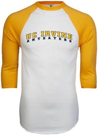 CollegeFanGear UC Irvine Navy Fleece Full Zip Hoodie UC Irvine Anteaters Arched