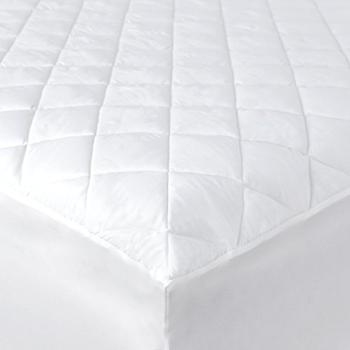 Hypoallergenic Mattress Pad with Fitted Skirt - Breathable Q