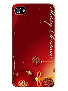 2014 New Christmas Stylish Christmas Gift Protection Case Cover for Iphone 4/4s