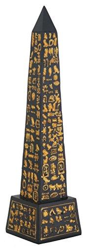 Pillar Obelisk - Egyptian Black Desert Obelisk Pillar Temple Of Ra With Hieroglyphs 8