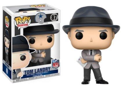 Funko POP NFL: Tom Landry (Cowboys Coach) Collectible Figure Dallas Cowboys Games Online