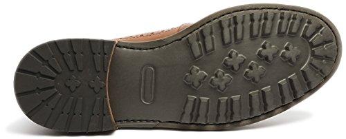 Gordon & Bros S160924 - Scarpe Stringate Da Uomo - Grigio Marrone