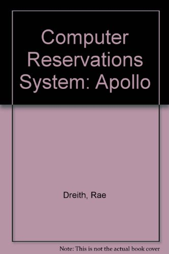 Computer Reservations System  Apollo  Travel Career Performance Training Student Handbook Series