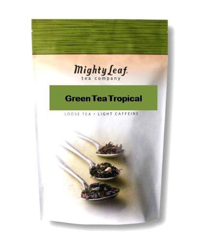 Mighty Leaf Tea Green Tea Tropical, Light Caffiene, 1-Pound (Fruited Blend)