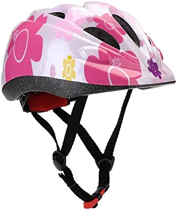 Sarik Toddler Helmet, Kid Helmet Adjustable Child Bike Helmet Multi-Sport Safety Bike Skating Scooter Girls Helmet for 2-6 Year Old S and 5 to 14 Years Old M