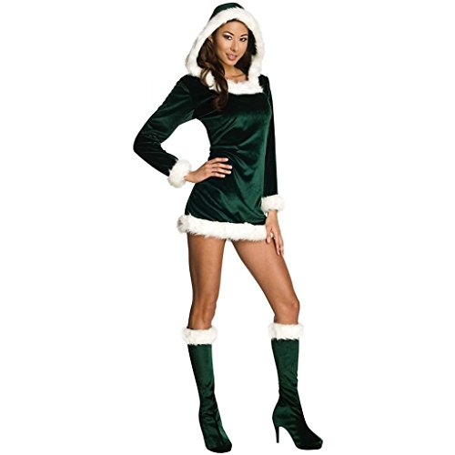 CHSGJY Elf Costume for Women Adult Sexy Christmas Outfit Fancy Dress