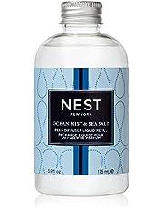 NEST Fragrances Ocean Mist & Sea Salt Reed Diffuser Liquid Refill, 175 ml.