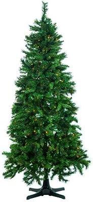 Amazon.com: 6' Feet Charlie Pine Artificial Christmas Tree ...