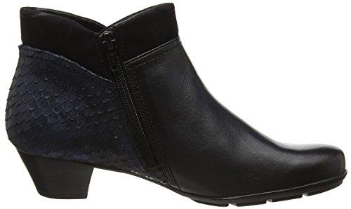 Gabor Shoes Gabor Basic, Botines para Mujer Azul (river/OceanMicro)