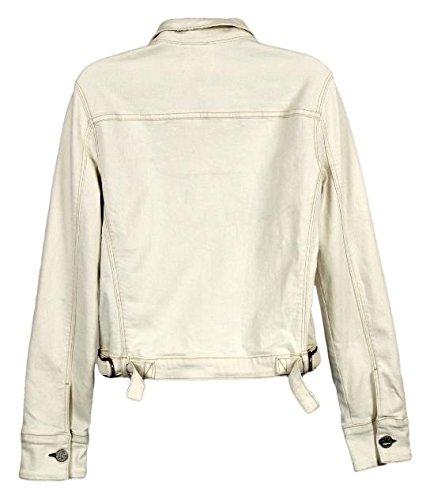 McGuire x J Crew Agnelli Denim Jacket in Vanilla Size M Style F2518 by J.Crew