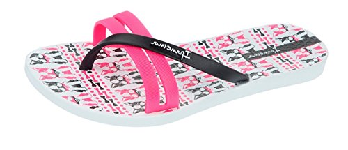 Ipanema Flip Print Flip Flops Mujeres / Sandalias White