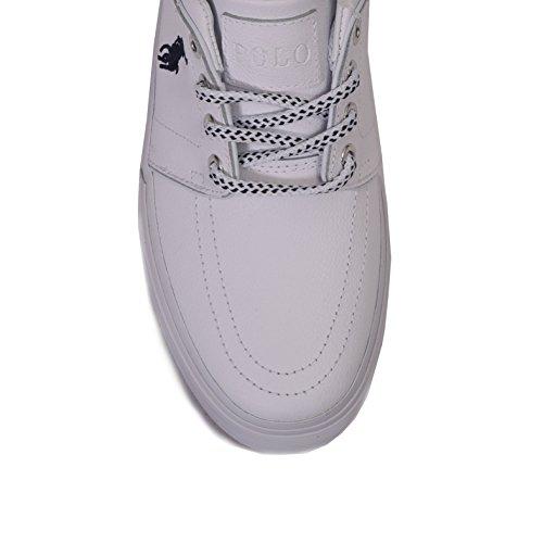 Polo Ralph Lauren , Baskets pour homme blanc Bianco