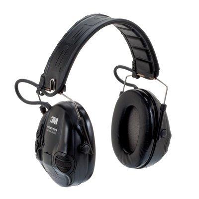Peltor MT16H210F-479-SV Tactical Sport Headset Black 1/Case by Peltor