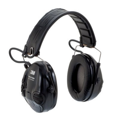 Peltor MT16H210F-479-SV Tactical Sport Headset Black 1/Case