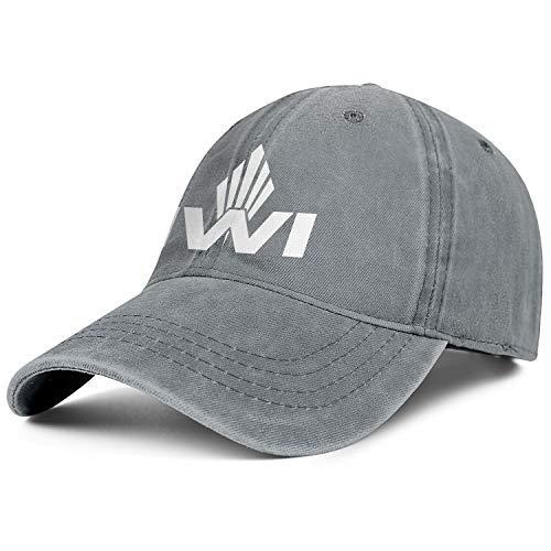Bombline Mens Womens Israel-Weapon-Industries-Logo- Adjustable Retro Summer Travel Hats Baseball Washed Dad Hat Cap