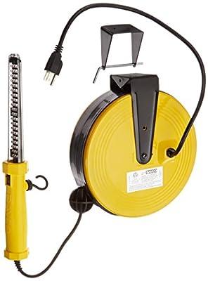Bayco SL-864 60 LED Work Light on Metal Reel with 50 Foot Cord