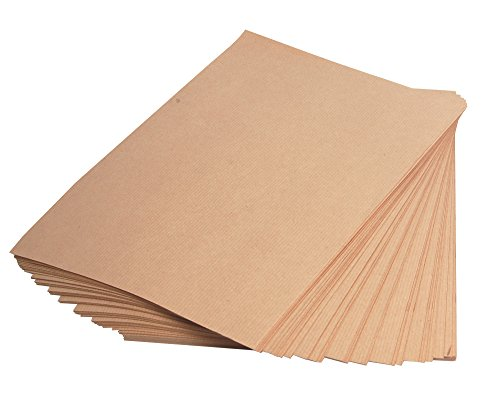 Clairefontaine 3708C Kraftpapier, Ries, 250 Blatt, Din A4, 90 g, braun