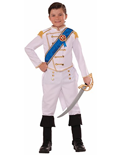 Forum Novelties Kids Happily Ever After Prince Costume, White, (Prince Costume For Toddler)