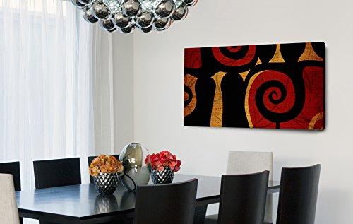 Quadro Decorativo Para Sala Geomêtrico Caracol 55x100