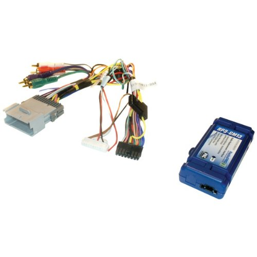 Pac Radio Replacement Interface For Select Gm(R) Vehicles (Class Ii Data-Bus & 32-Pin Ribbon Harness)