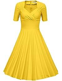 Amazon yellow dress shoes